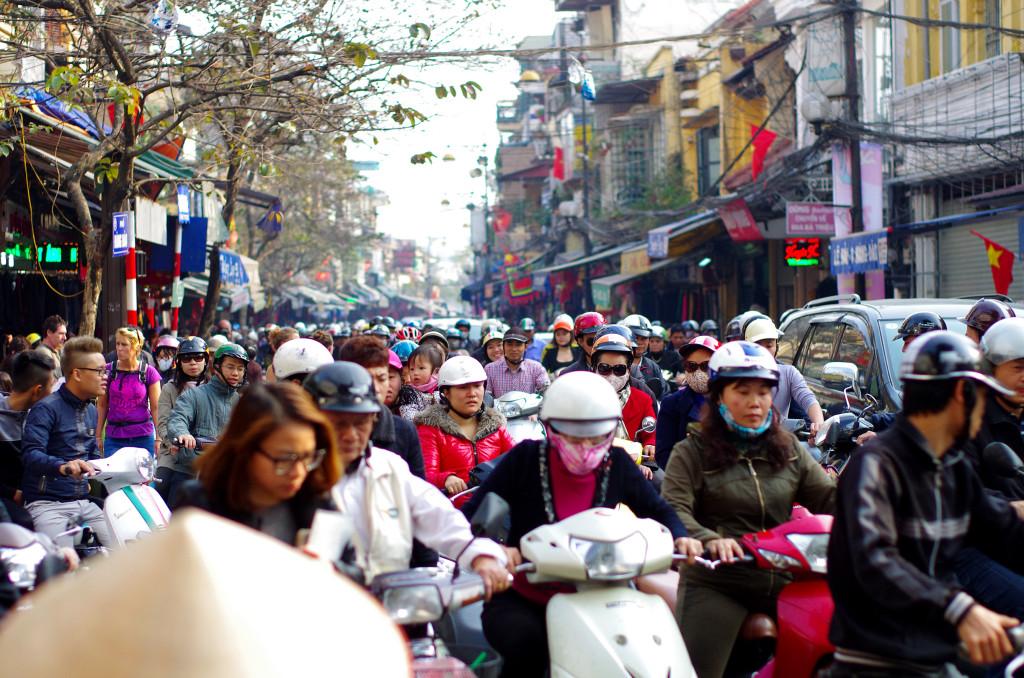 Hanoi Verkehr
